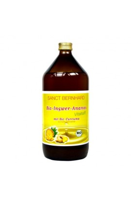 Allnature,  Allnature Bio Ginger - pineapple juice with curcuma 1 l
