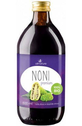 Allnature,  Allnature Noni 100% Organic Fruit Juice 500ml