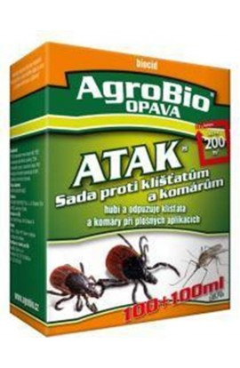 AgroBio ATAK Set against ticks and mosquitoes 100 + 100m