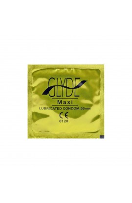 GLYDE, CONDOMS MAXI RED, 10 pcs
