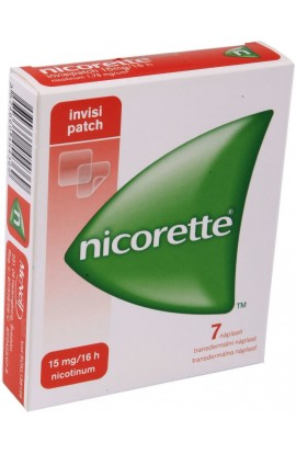 Johnson & Johnson, NICORETTE 15mg-16h Invisipatch Никоретте пластыри 7x15mg