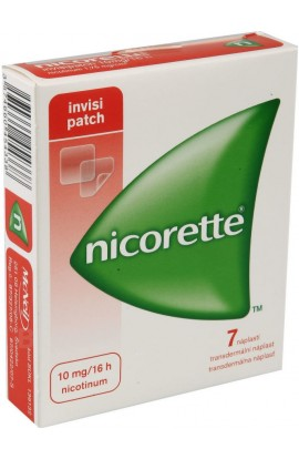 Johnson & Johnson, NICORETTE 10mg-16h Invisipatch Никоретте пластыри 7x10mg