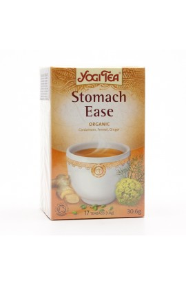 GOLDEN TEMPLE, TEA YOGITEA STOMACH EASE, 17 pcs