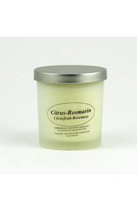 KERZENFARM, NATURAL CANDLE CITRUS ROSEMARY, 8 CM