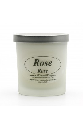 KERZENFARM, NATURAL CANDLE ROSE, 8 CM