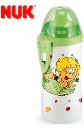 Nuk First Choice bottle Flexi Cup Bee Mája yellow 300ml