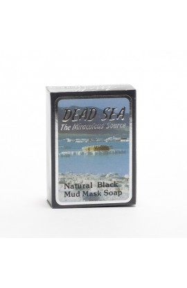 MALKI, SOAP BLACK MUD, 90 G