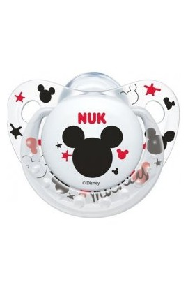 Nuk Mickey Mouse Mouse White