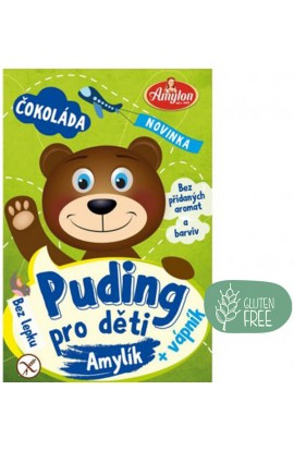 Amylon,  Amylon Puding Chocolate for children without gluten 40 g