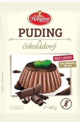 Amylon,  Amylon Puding without chocolate glue, 40g