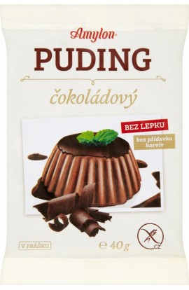 Amylon,  Amylon Puding chocolate without gluten 40g