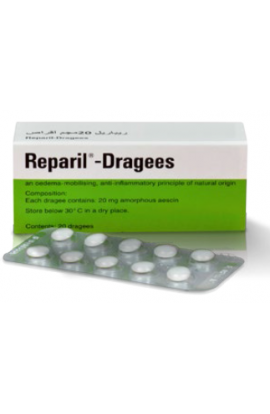 MADAUS, REPARIL - DRAGÉES Репарил драже 100x20mg
