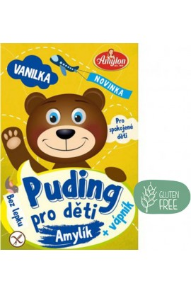Amylon,  Amylon Puding Vanilla for children without gluten 40 g