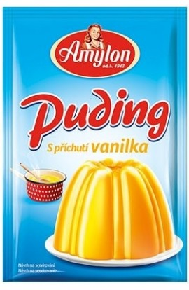 Amylon,  Amylon Puding with vanilla flavor in powder 37g