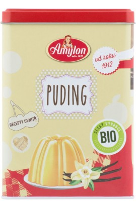 Amylon,  Amylon Bio Sheet box with pudding without gluten 120 g