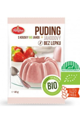 Amylon, Amylon Bio Puding Strawberry 40g