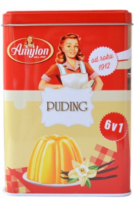 Amylon, Amylon tin box Bio pudding 225 g