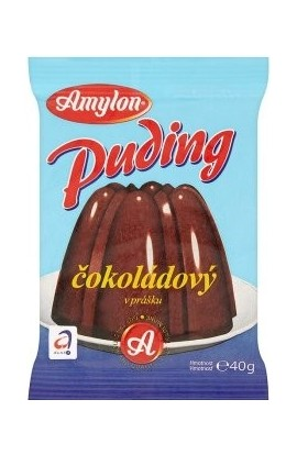 Amylon, Amylon Puding with chocolate flavor in powder 40g