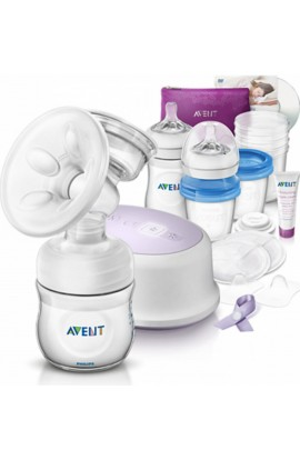 Philips Avent Breast Pump + breastfeeding kit