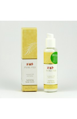 PURE FIJI, MOISTURIZING BODY LOTION, MILK & HONEY, 90 ML
