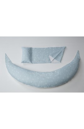 Nuvita Multi Purpose Pillow Dream Wizard Gray Star