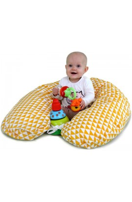 GADEO Nurturing and relaxing pillow VINTAGE YELLOW EPS ball 3 4mm
