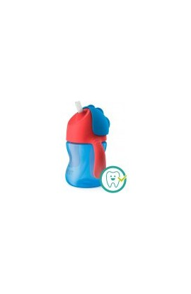 Philips Avent mug with straw blue 200 ml