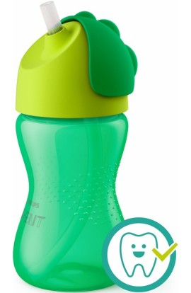 Philips Avent mug with straw green 300 ml