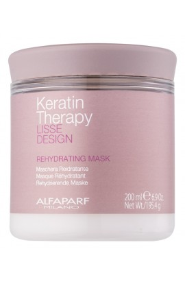 ALFAPARF MILANO, Lisse Design Keratin Therapy, rehydrating mask for all hair types