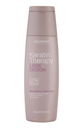 ALFAPARF MILANO, Lisse Design Keratin Therapy, nourishing conditioner without sulphates and parabens