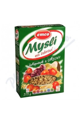Emco, Emco Mysli crunchy with nuts 375g