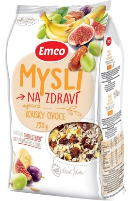 Emco, Emco Mysli Loafed with Pieces of Fruit 750g