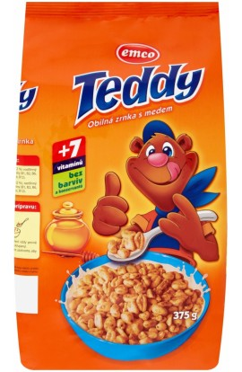 Emco, Emco Teddy with honey 375g