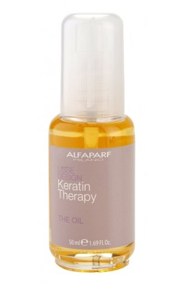ALFAPARF MILANO, Lisse Design Keratin Therapy, nourishing oil for all hair types