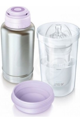 Philips Avent Travel thermos and universal bottle heater