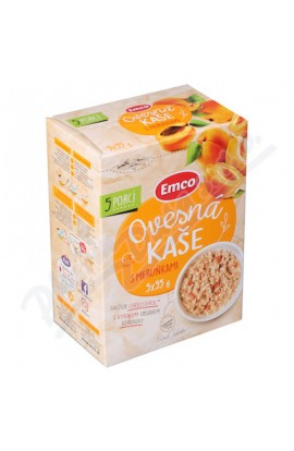Emco,  Emco Oatmeal with apricots 5x55 g