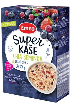 Emco,  Emco Super Mango Chia Seeds & Forest Mix 3 x 55 g