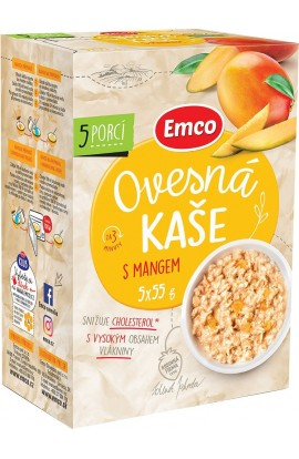 Emco,  Emco Porridge with mango 5x55 g