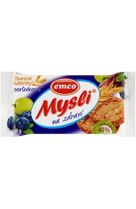 Emco, Emco Mind for Health Oatmeal Blueberry Biscuits 60g