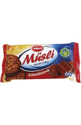 Emco, Emco had biscuits - chocolate 60 g