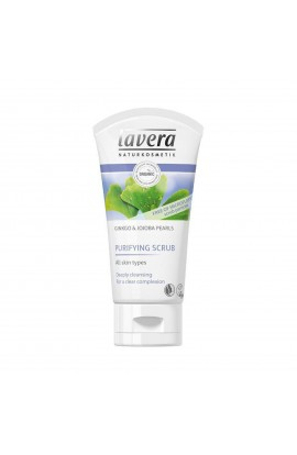 LAVERA, CLEANSING FACIAL SCRUB GINKGO & JOJOBA BEADS, FACES, 125 ML