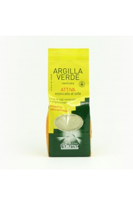 ARGITAL, ACTIVE GREEN CLAY DRIED BY THE SUN VENTILATED, 0,5 KG