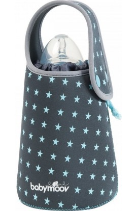 Babymoov Blue Stars travel bottle heater
