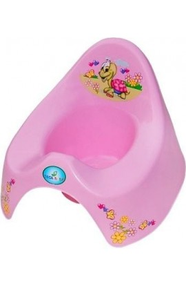 Tega Baby Playing Potty Turtle Pink