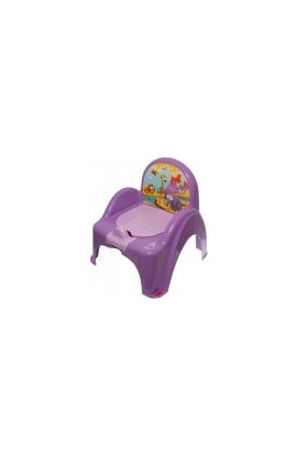 Tega Baby potty canopy playing Safari violet