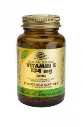 Solgar Vitamin E 134mg (200 I.E.) 250 veg. Softgels