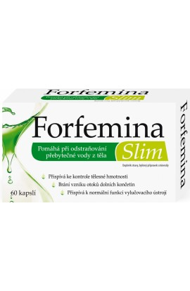 Naturprodukt Forfemina Slim for body drainage and slimming 60 cps.