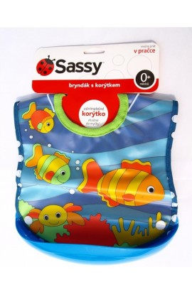 Sassy Bib with the Sea Trough