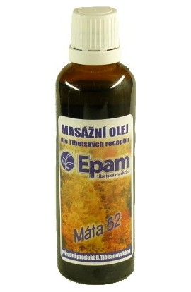 Epam, Epam massage oil 52 mint 50 ml