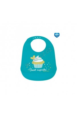 Canpol Silicone Cupcake Turquoise Bubble